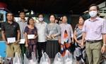 Hỗ trợ 8 gia đình có nhà bị cháy ở An Giang