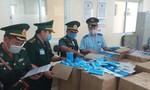 Bắt vụ vận chuyển 160.000 khẩu trang y tế qua Campuchia