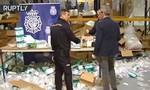 Clip kho y tế Tây Ban Nha bị trộm đột nhập lấy 2 triệu khẩu trang