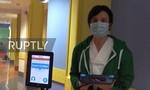 Clip bệnh viện ở Ý dùng rô-bốt thăm khám bệnh nhân nCoV