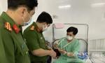 Giây phút lính cứu hoả bị bỏng hoá chất khi chữa cháy