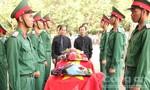 Truy điệu, an táng 16 hài cốt liệt sĩ hy sinh tại Campuchia
