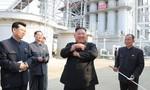 """Ông Kim """"tái xuất"""" cắt băng khánh thành một nhà máy"""