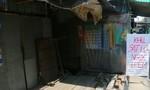Rạch Cái Sắn xuất hiện vết nứt, đe dọa 14 hộ dân