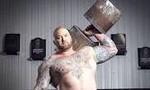 Người khỏe nhất hành tinh, với kỷ lục nâng tạ 501kg