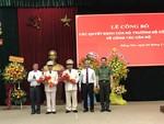 Bổ nhiệm hai Phó giám đốc Công an tỉnh Đồng Nai