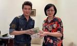 Ca sĩ Đàm Vĩnh Hưng trao 270 triệu đồng giúp người dân vùng hạn mặn