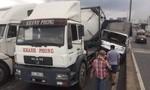 TPHCM: Liên tiếp 3 vụ va chạm trên cầu Phú Mỹ, giao thông ùn tắc kinh hoàng
