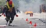 Công an 8 tỉnh tham gia hội thi nghiệp vụ chữa cháy và cứu nạn cứu hộ