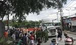 Thanh niên bị xe container cán chết ở gần phà Cát Lái