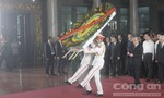 Lễ viếng nhà tình báo chiến lược Trần Quốc Hương