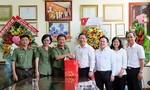Lãnh đạo TP và Công an TP chúc mừng Báo Công an TPHCM