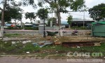 Người đàn ông nằm chết trước chợ đầu mối ở Sài Gòn