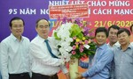 Bí thư Thành ủy Nguyễn Thiện Nhân thăm, chúc mừng các cơ quan báo chí