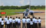 Đài Loan lần đầu ra mắt máy bay huấn luyện siêu âm