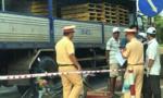 Xe tải va chạm xe máy trên QL1A, một người tử vong tại chỗ