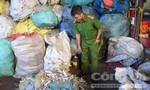 Phát hiện cơ sở thu gom rác thải y tế nghi trái phép quy mô lớn