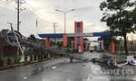 Nhiều công trình trong trung tâm hành chính TP.Dĩ An ngã đổ sau mưa