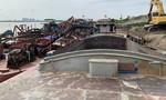 Triệt phá 4 băng nhóm cát tặc chuyên nghiệp, quy mô lớn trên sông Hồng