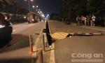 Tông cột biển báo giao thông ở Sài Gòn, thanh niên chết tại chỗ