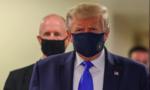 Trump lần đầu tiên đeo khẩu trang ở nơi công cộng