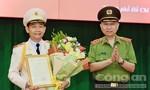Trao quyết định thăng hàm Thiếu tướng cho đồng chí Đinh Thanh Nhàn