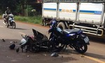 4 người tử vong trong 2 vụ xe máy đối đầu