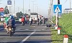 Vợ tử vong, chồng bị thương sau tai nạn xe máy