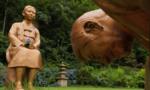 """Hàn – Nhật hục hặc vì bức tượng quỳ ở công viên """"trông giống ông Abe"""""""