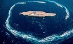 Iran chế mô hình tàu sân bay Mỹ để tập trận trên Vùng Vịnh