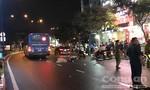 Xe buýt ở Sài Gòn cán chết người đàn ông lớn tuổi mặc đồ bảo vệ