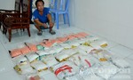 Lái ôtô vận chuyển 45 kg ma túy từ Campuchia vào Việt Nam