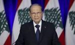 """Tổng thống Li-băng tuyên bố """"không thể từ chức"""" sau vụ nổ Beirut"""