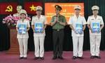 Công an TPHCM: Thăng cấp bậc hàm cho lãnh đạo, chỉ huy