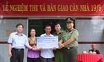 Công an TPHCM: Khánh thành nhà 19-8 tặng đồng đội