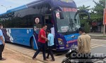 Xe khách liên tỉnh vẫn chạy và đón trả khách dọc đường ở địa phương có dịch