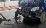 Bốn xe đâm liên hoàn ở Sài Gòn, các tài xế may mắn thoát nạn