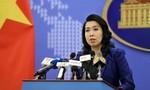Việt Nam lên tiếng việc Philippines đặt tên cho 4 bãi cát và 2 đá san hô quanh đảo Thị Tứ