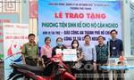 Trao sinh kế cho 5 gia đình ở quận Tân Phú