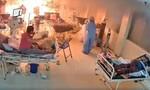 Clip bác sĩ và bệnh nhân nCoV bỏ chạy vì máy thở phát nổ