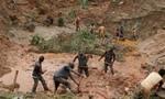 Sập mỏ vàng ở Công Gô, ít nhất 50 người thiệt mạng