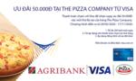 Ngập tràn ưu đãi cùng thẻ Agribank Visa