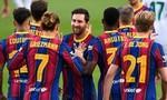 Barca thắng chật vật đội mới lên La Liga