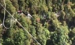 Clip cựu quân nhân 90 tuổi nhảy bungee ở độ cao 200 mét