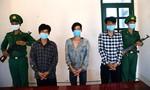 Bắt quả tang nhóm đối tượng đưa 3 người nhập cảnh trái phép vào Việt Nam