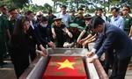 An táng hài cốt liệt sỹ được phát hiện từ mộ tập thể tại tỉnh Đắk Nông