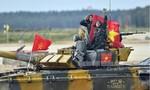 Đội xe tăng Việt Nam vô địch bảng 2 Tank Biathlon tại Army Games 2020