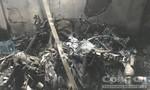 17 xe máy bị thiêu rụi trong vụ cháy khu nhà trọ ở TP.Thủ Đức