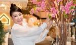 Hà Kiều Anh đẹp rạng rỡ với sắc trắng