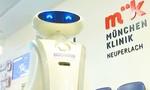 Cận cảnh Robot nặng 200kg dọn dẹp sàn bệnh viện thời Covid-19